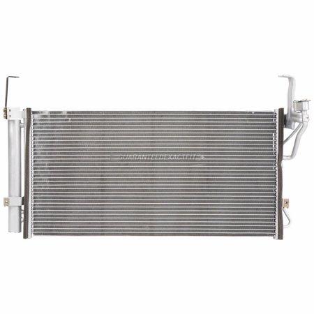A/C AC Condenser Drier For Hyundai Santa Fe 2001 2002 2003 2004 2005 2006 ()