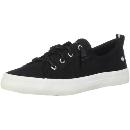3bee8971a0f09 Sperry STS99251: Top-Sider Crest Vibe Womens Black Boat Sneakers (7.5 B(M)  US Women)