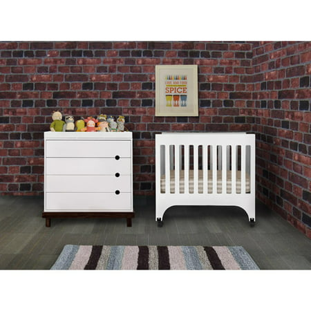 Baby Mod - Rainbow Mini Crib, White - Walmart.com