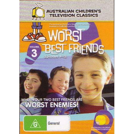 Worst Best Friends - Vol. 3 ( Worst Best Friends - Vol. 3 - Episodes 9-13 ) ( Worst Best Friends - Vol. Three ) [ NON-USA FORMAT, PAL, Reg.0 Import - Australia