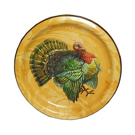 Amscan A Time for Thanksgiving Dinner Plates-8