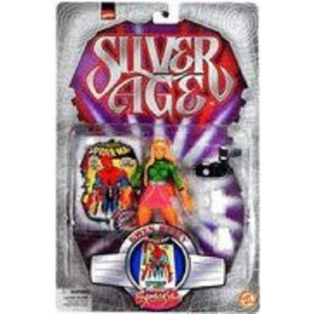 Marvel Comics Silver Ages Gwen Stacy Figure, Action Figure By SpiderMan From USA - Spiderman And Gwen