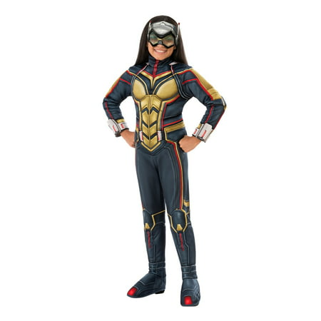 Marvel Ant-Man & The Wasp Deluxe Wasp Girls Halloween - Girls Marvel Costume