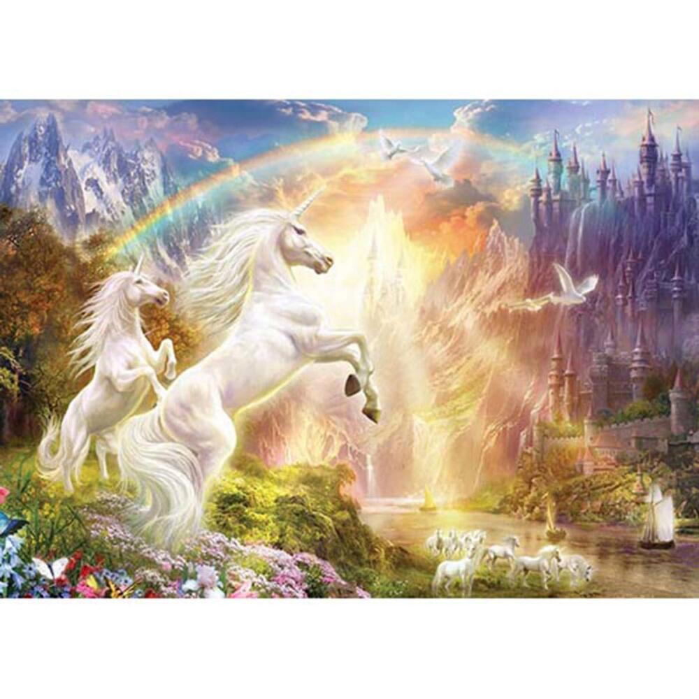 Masterpieces Puzzle Co Rainbow River Jigsaw Puzzle