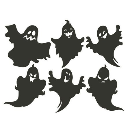 Halloween Room Themes (Fancyleo Halloween Ghost Wall Stickers Household Room Wall Sticker Removable Mural Decor Decal)