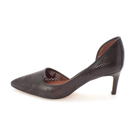 Cole Haan Womens CLH50932 Pointed Toe Dorsay Pumps Black Size 6.0
