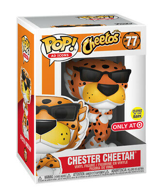 FUNKO POP VINYL AD ICONS CHEETOS CHESTER CHEETAH #77