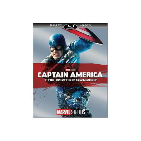 Disney Captain America: The Winter Soldier (Blu Ray Captain America The Winter Soldier)