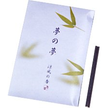 Bamboo Leaf Stick Incense - Nippon Kodo Yume-No-Yume (Dream of Dreams)