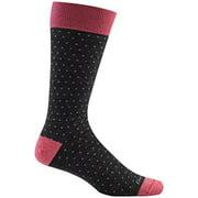 Darn Tough Vermont Merino Wool Classic Dots Mid-Calf Sock - Men's Charcoal Large