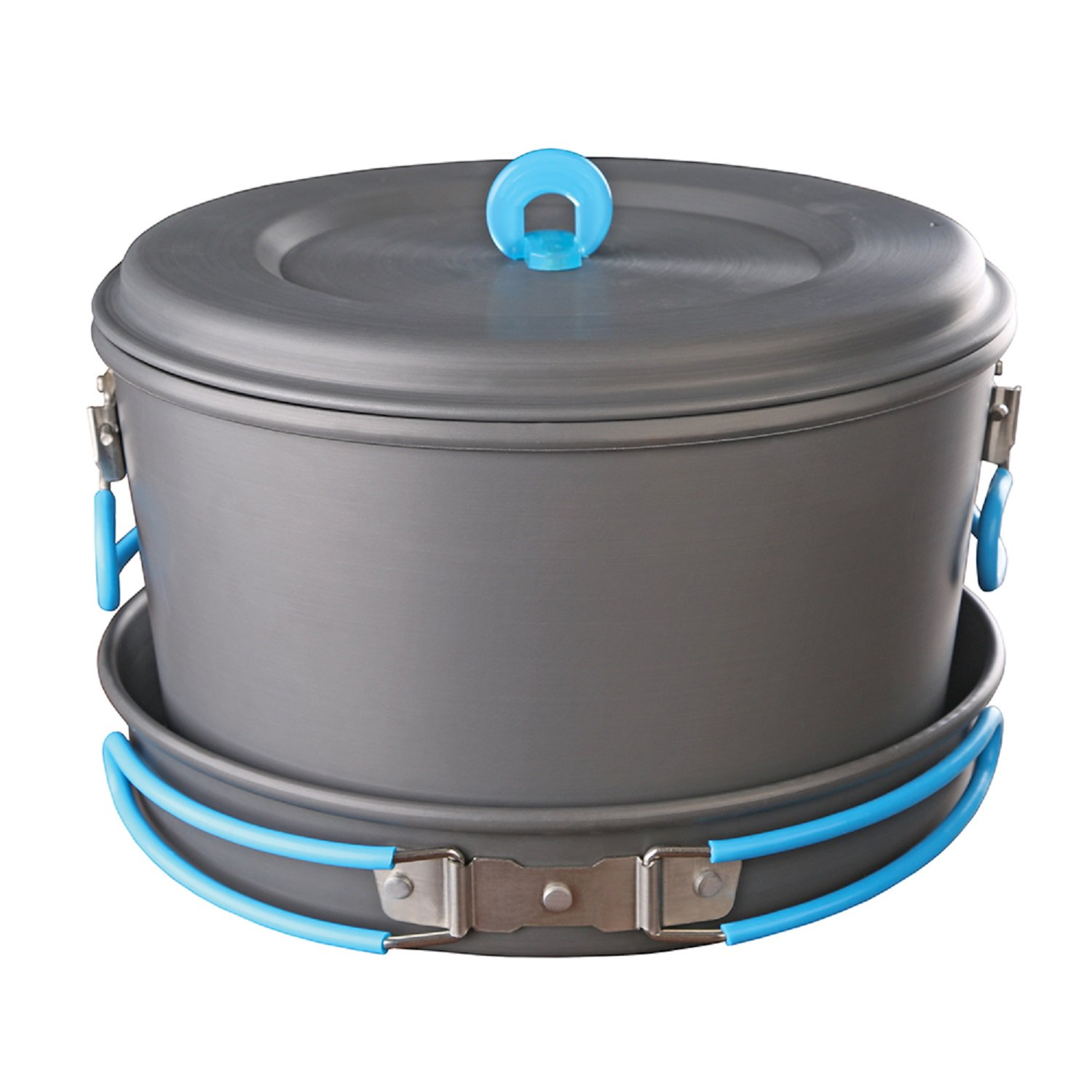 Click here to buy Stansport Anodized Aluminum Cook Set by Stansport.