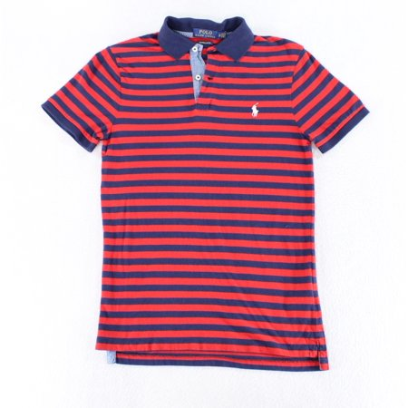 Ralph Striped Red Mens Xs Rugby Size New Polo Shirt Lauren wXuOkPZiT