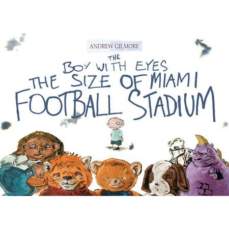 The Boy with Eyes the Size of Miami Football Stadium - eBook - Football Snack Stadium
