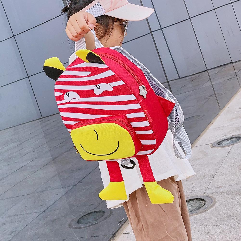 Aktudy Aktudy Cute 3d Cartoon Pattern Backpacks Kids Girls Boys Nylon Knapsack Red Walmart Com Walmart Com