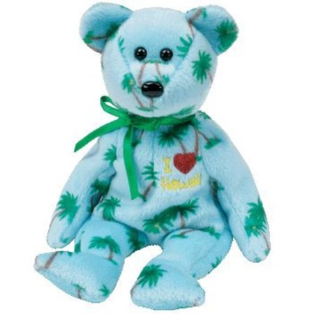 TY Beanie Baby - HAWAII the Bear (I Love Hawaii - State Exclusive)