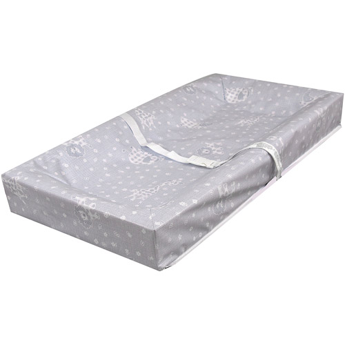 L.A. Baby 4-Sided Square-Corner Changing Pad, Blue by L.A. Baby
