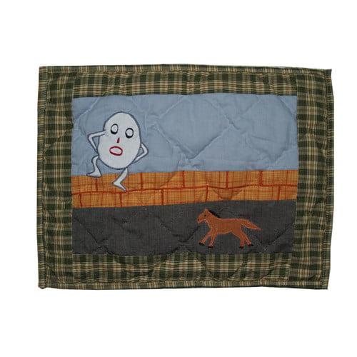 Patch Magic Rhyme Tyme Cotton Boudoir/Breakfast Pillow (Set of 2)