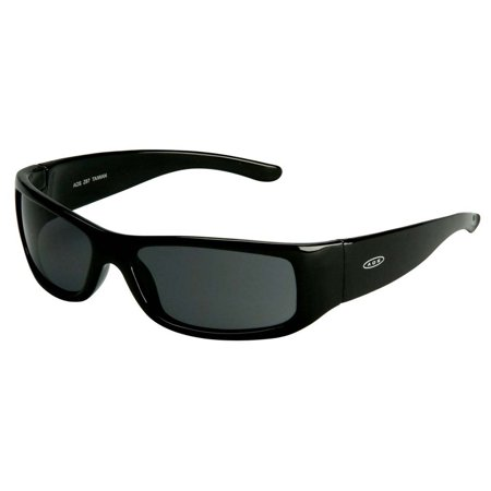3M Moon Dawg Protective Eyewear 11215-00000-20 Gray Anti-Fog Lens, Black Frame