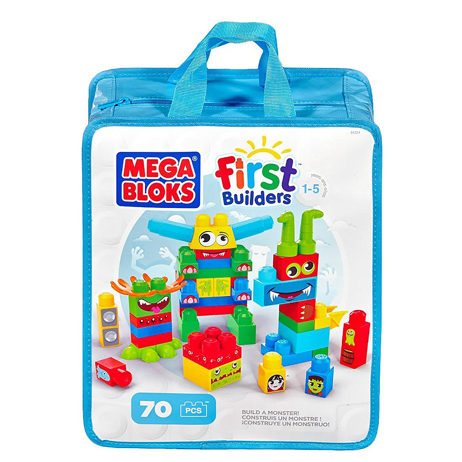 Mega Bloks First Builders Make a Monster Bag (224186455), Parallel import goods By Mega Brands