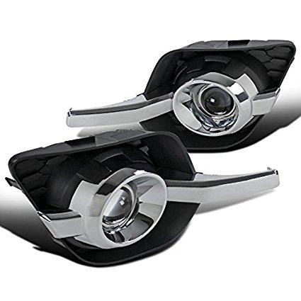 Chevy Equinox LT LTZ LX Clear Lens Bumper Driving Fog Lights+Bulbs+Switch