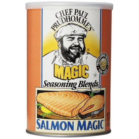 Seasoning Canister (4 PACKS : Magic Seasoning Blends Salmon Magic Seasoning Blend, 24-Ounce)