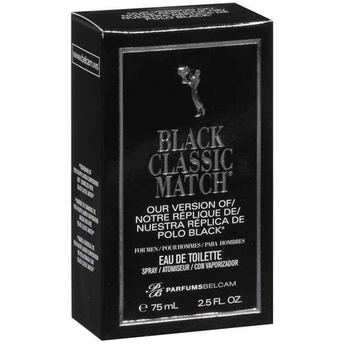 Black Classic Match Our Version Of Polo Black Spray Perfume, 2.5 fl oz