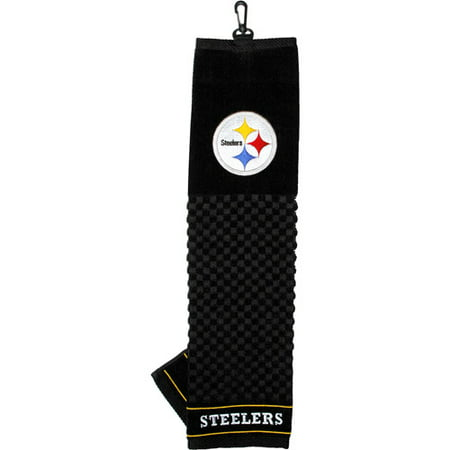Team Golf NFL Pittsburgh Steelers Embroidered Golf (Pittsburgh Steelers Towel)