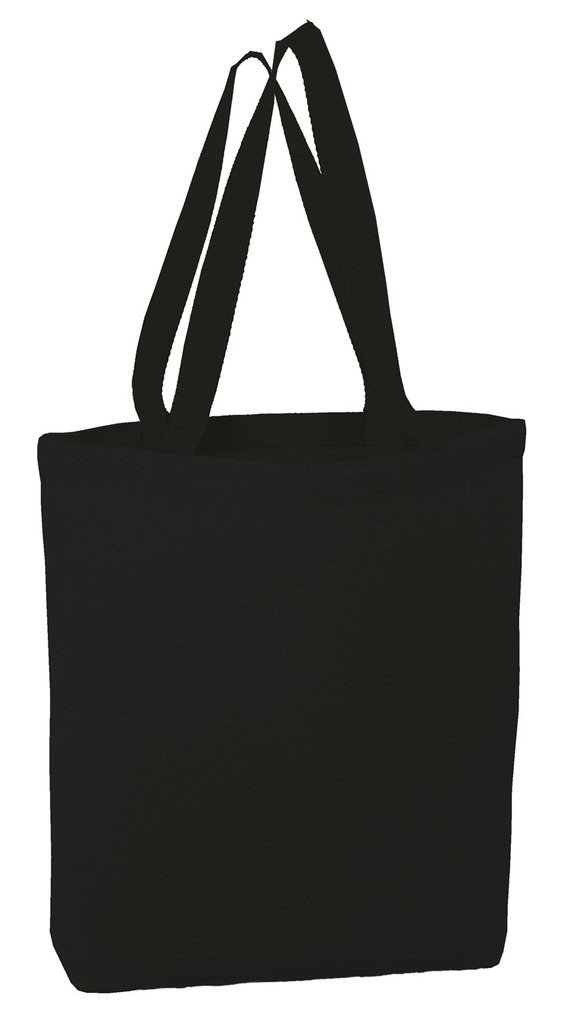 Bagzdepot Canvas Tote Bags High Quality With Bottom Gusset Tg200