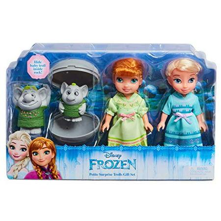 Disney Frozen, Exclusive Petite Surprise Trolls Set - image 1 de 1