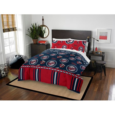 Minnesota Twins Queen Bed In Bag Set ()