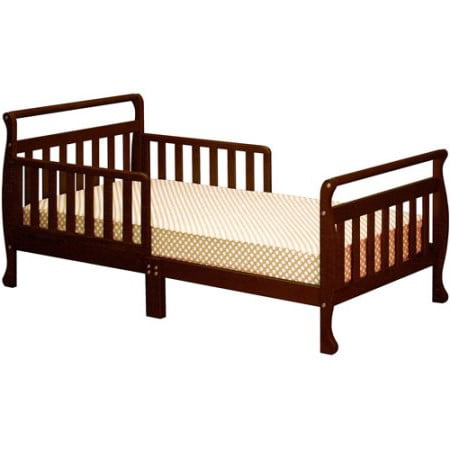 Athena Classic Sleigh Toddler Bed Espresso
