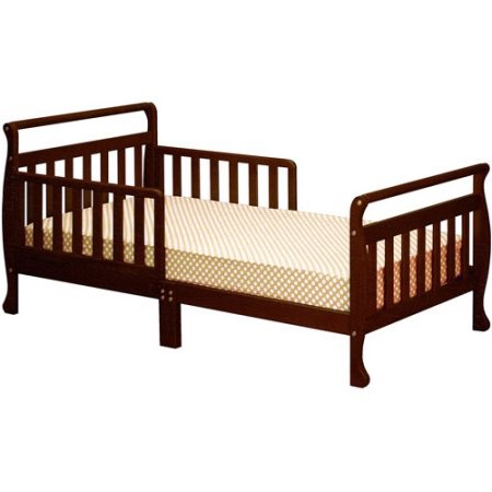 Athena Classic Sleigh Toddler Bed, Espresso