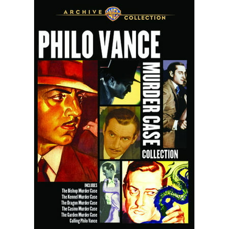 Philo Vance Murder Case Collection (DVD)