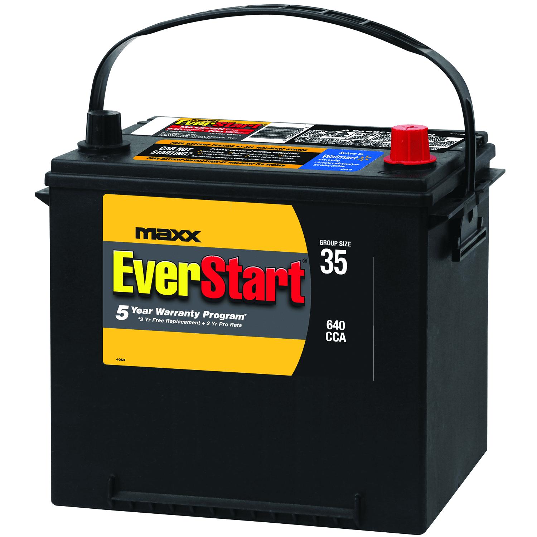 EverStart Maxx Lead Acid Automotive Battery, Group 35n
