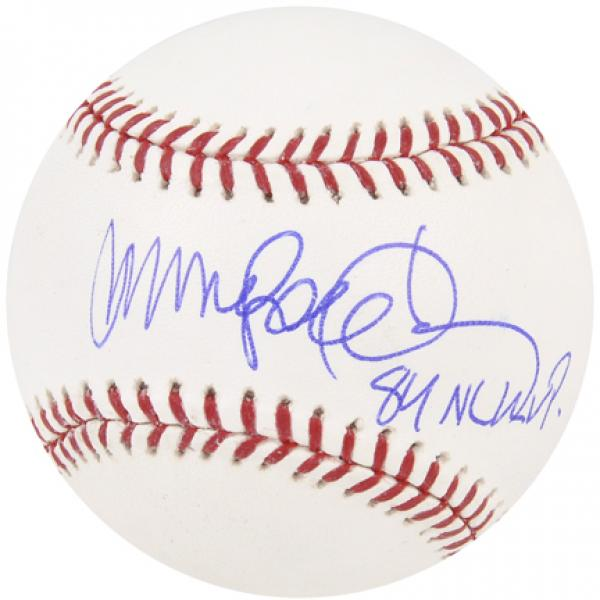 "MLB - Ryne Sandberg Autographed Baseball | Details: Chicago Cubs, with ""84 NL MVP"" Inscription"