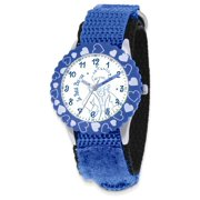Kids The Little Prince Blue Velcro Band Time Teacher Watch