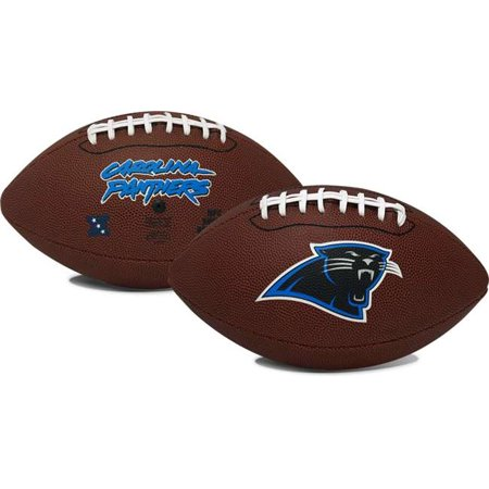 Carolina Panthers  Game Time Full Size Football - Rawlings (Tide Personalized Football)