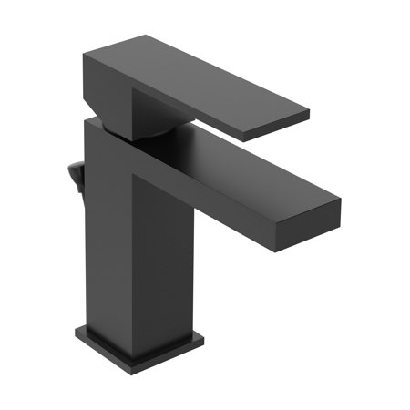 Duro Single Hole Single-Handle Bathroom Faucet with Drain Assembly in Matte Black (1.0 GPM)