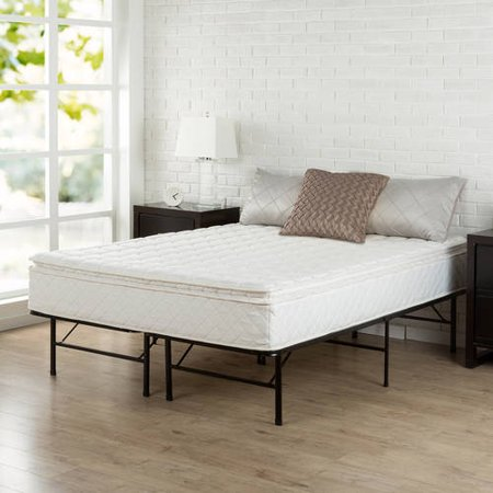 Slumber 1 - 10 Pillow Top Mattress with Smart Base Set, Multiple Sizes