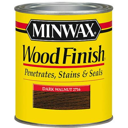 Minwax Woodfinish Dark Walnut 1-Qt