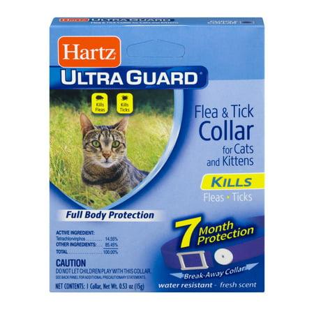 Hartz UltraGuard Flea & Tick Collar for Cats & Kittens, 7 Month