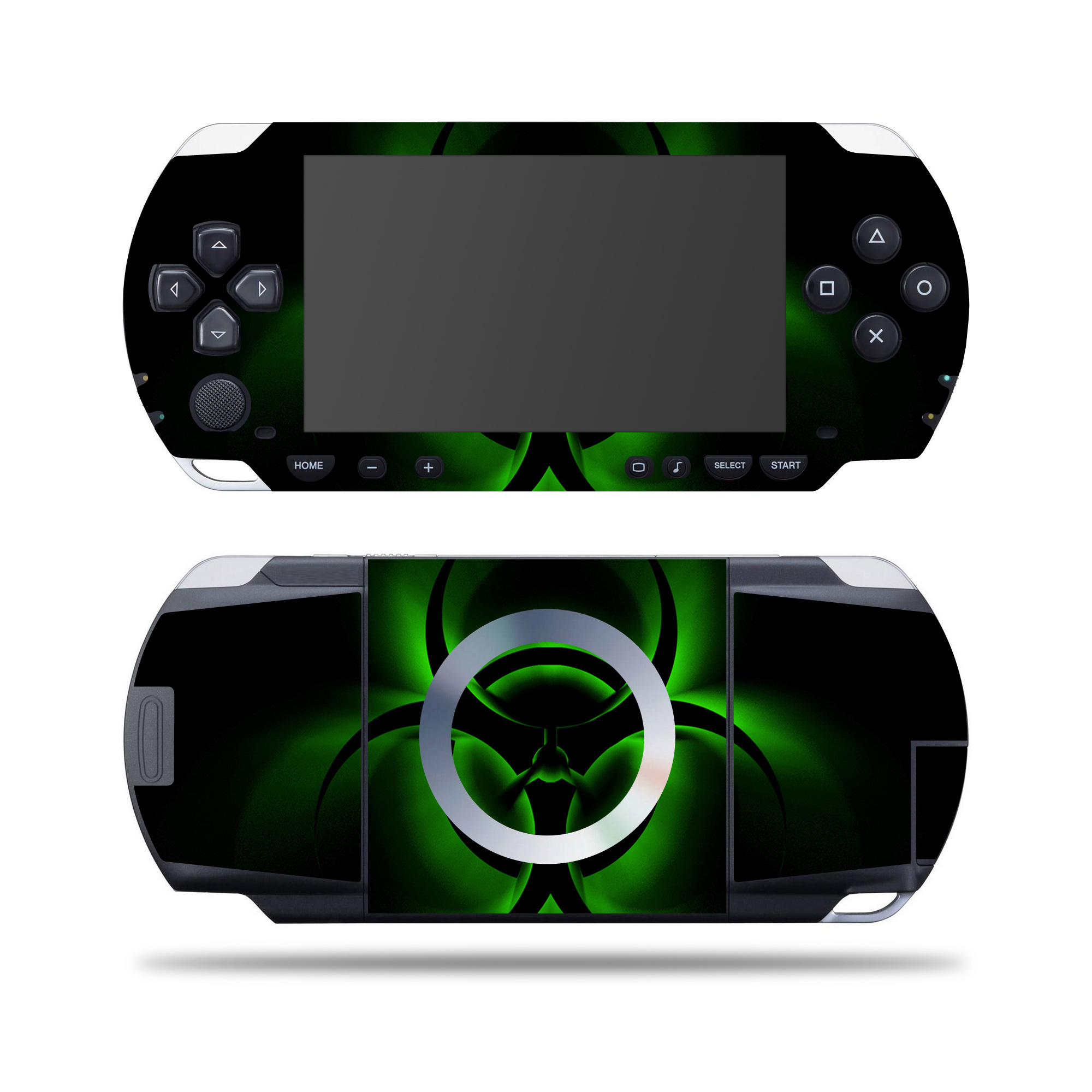 MightySkins Skin For SONY PSP – Bio Glare   Protective, Durable, and Unique Vinyl Decal wrap cover   Easy To Apply, Remove, and Change Styles   Made in the USA