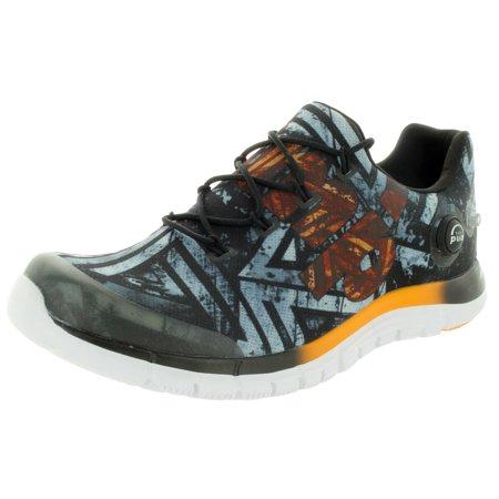 e14dd0615d1 Reebok - Reebok Men s Zpump Fusion Geo Running Shoe - Walmart.com