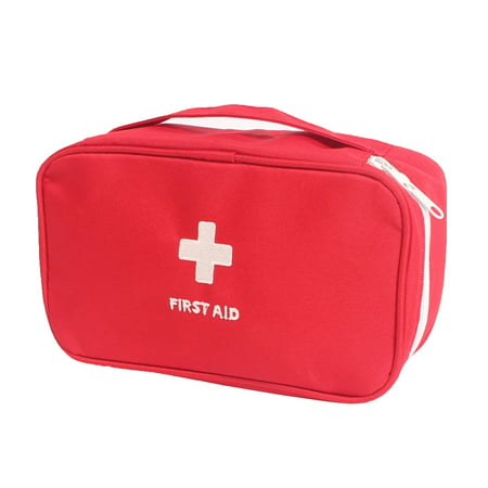 Outdoor Travel Sport Camping Hiking Medic Emergency First Aid Empty Kit Storage Bag -