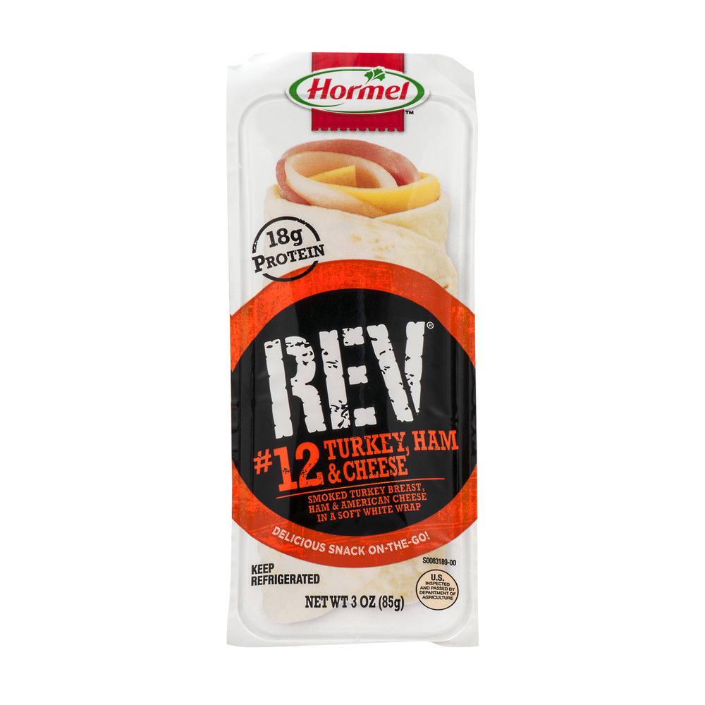 Hormel REV #12 Turkey, Ham & Cheese, 3.0 OZ