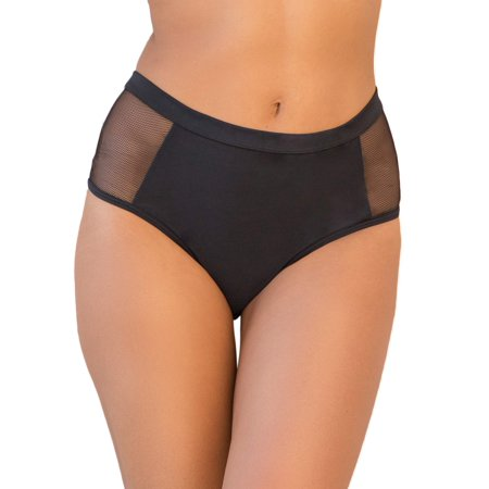 018eb67abc0d16 Joan Smalls X Smart & Sexy - Women's High-Waisted Fishnet Swim Bottom -  Walmart.com