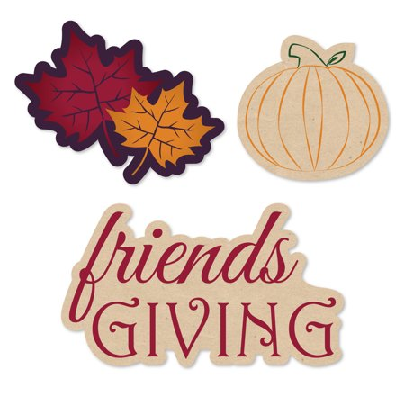 Friends Thanksgiving Feast - Shaped Friendsgiving Party Cut-Outs - 24 Count - Party City Thanksgiving Hours
