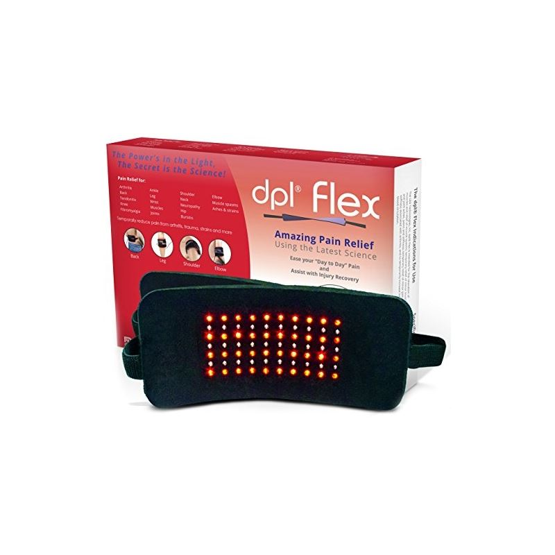DPL FlexPad Pain Relief System for Back and Knee Pain (880nm Infrared and 660)