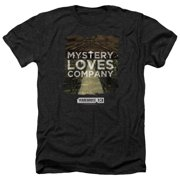 Warehouse 13 Mystery Loves Mens Heather Shirt