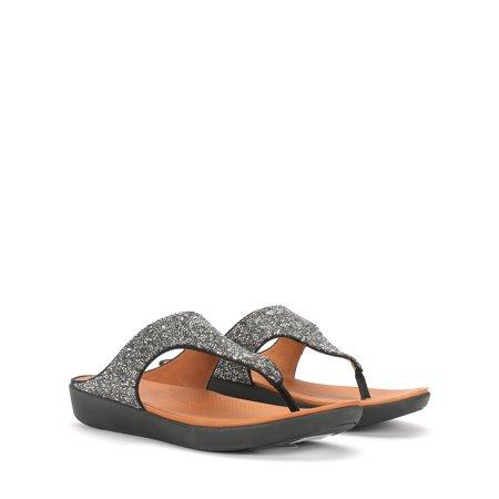 81634351c9d FitFlop - FitFlop Women s Banda II Quartz Sandals M61 - Walmart.com